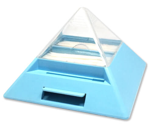 Pyramid Plastic Toothpick Dispenser
