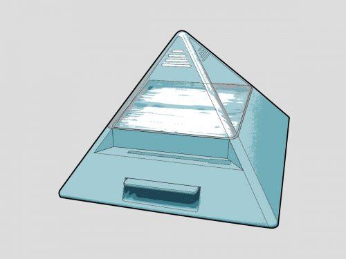 金字塔牙籤盒